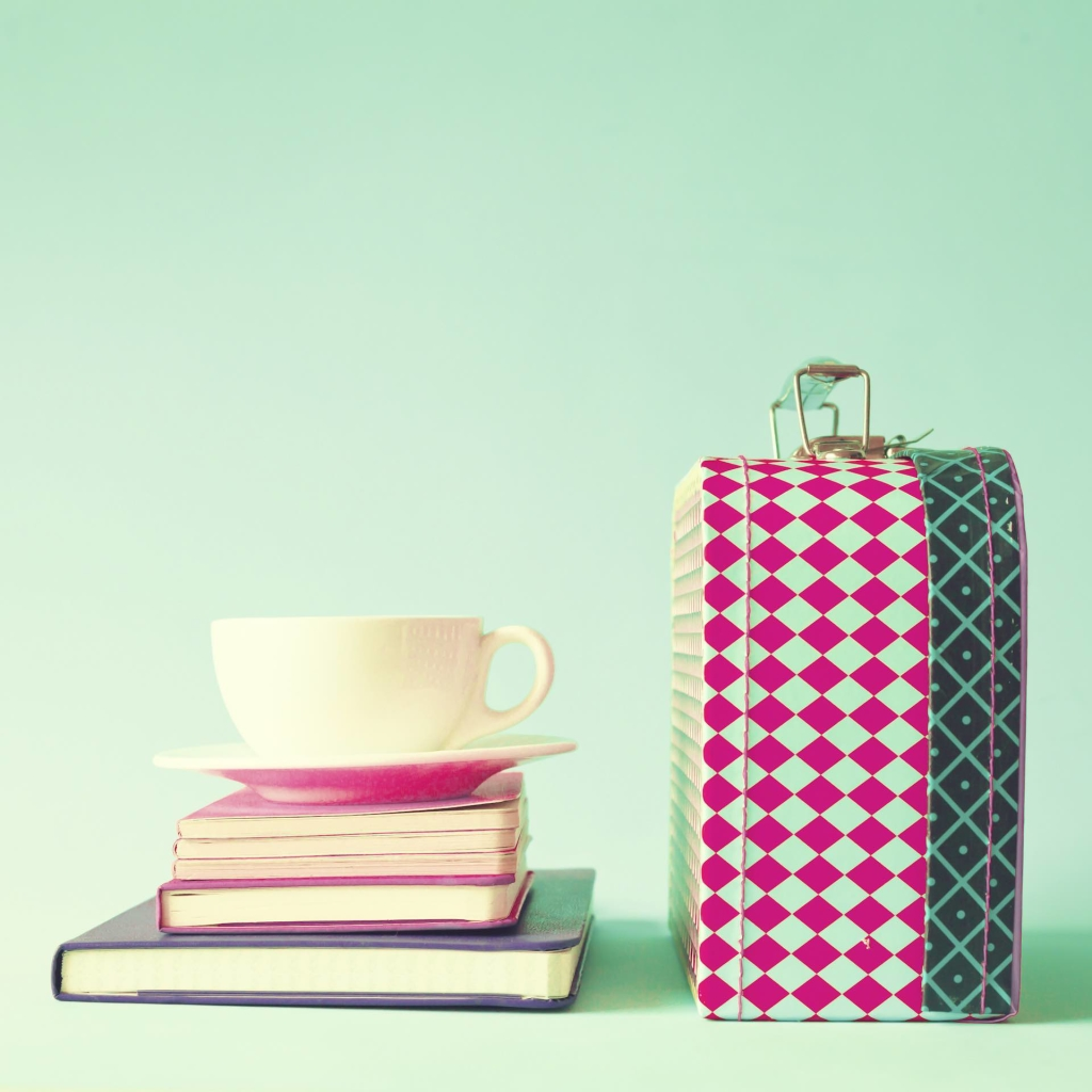 Tea cup and Lunch Box